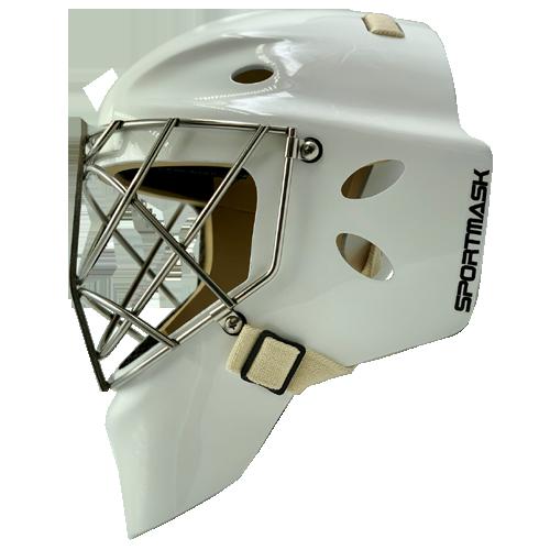 sportmask pro 3i hockey goalie mask white