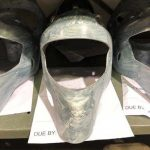 fibreglass kevlar raw mask