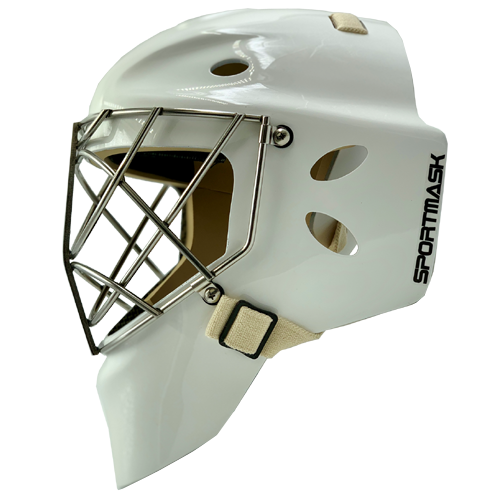 sportmask pro 3i hockey goalie mask white